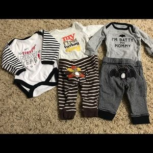 """Newborn """"My first"""" outfits"""